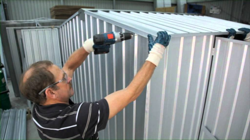 Shed Assembly Gable Roof Garden Master Sheds Youtube