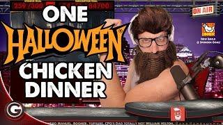 PUBG Halloween 5tat Costume CHICKEN DINNER! thumbnail