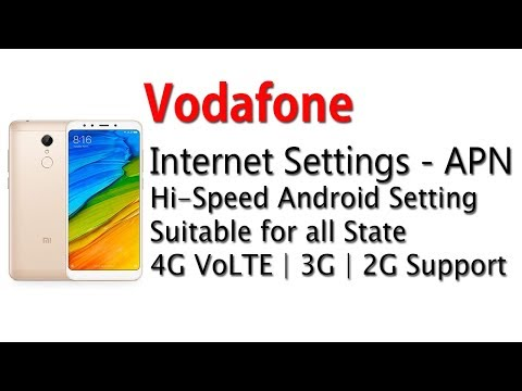 Download Vodafone 4g Apn Settings For Android India MP3, MKV