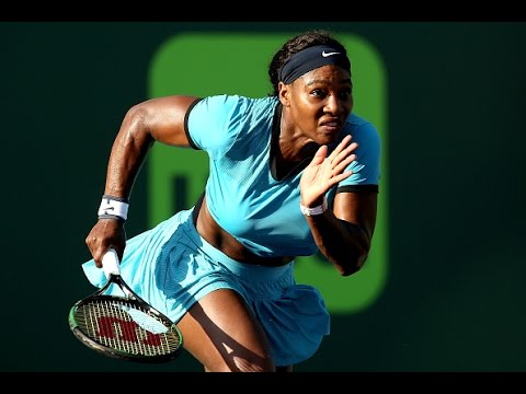 2016 Miami Open Third Round | Serena Williams vs Zarina Diyas | WTA Highlights