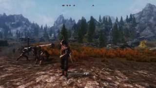 Skyrim Mods PC - FF7 Custom Block Animation, White Walkers Cometh