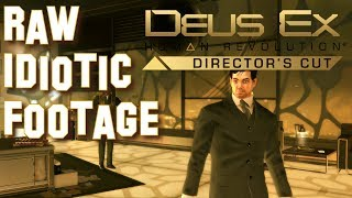 Deus Ex: Human Revolution Raw Idiotic Footage in 1440p, Part 1: Welcome to Detroit (for PC)