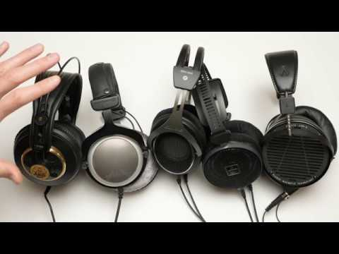 Sound for Video Session: Mixing Headphones - 5 Headphones Compared