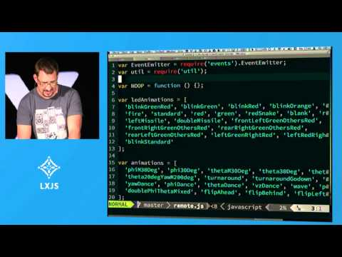 Gilles Ruppert - LXJS 2013 - Hardware Hacking