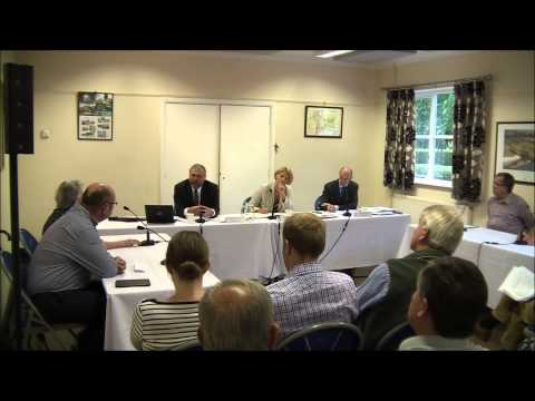 A14 Open Hearing 13th July 2015 Hilton Village Hall