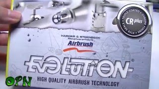 Harder and Steenbeck Evolution CRplus 2 in 1 airbrush review