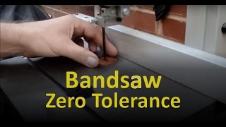 Bandsaw Zero Tolerance Insert