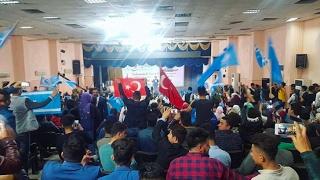 Türkmen festivalı Mehmet kaya 2017 bayrağıw eliwde مهرجان تركماني - محمد قيا 2017بايراغو الودا