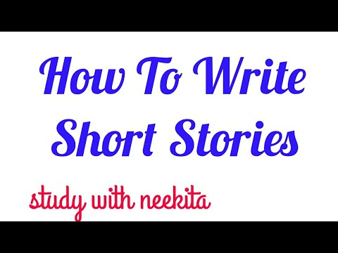 How to write short stories (vedio lecture in hindi)