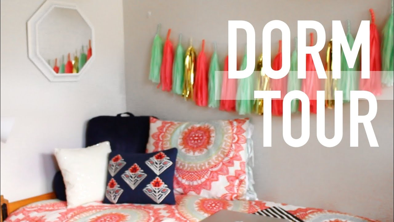 Dorm Room Tour   YouTube Part 71