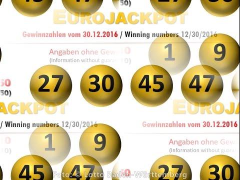 Eurojackpot 30.12