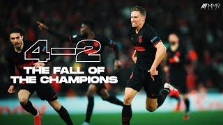 Atletico Madrid Vs Liverpool 4-2 - The Fall Of The Champions | Cinematic Highlights