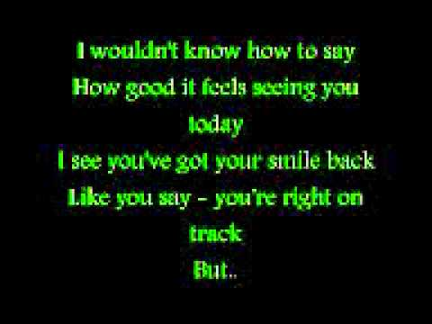 Will Young- Leave Right Now with lyrics