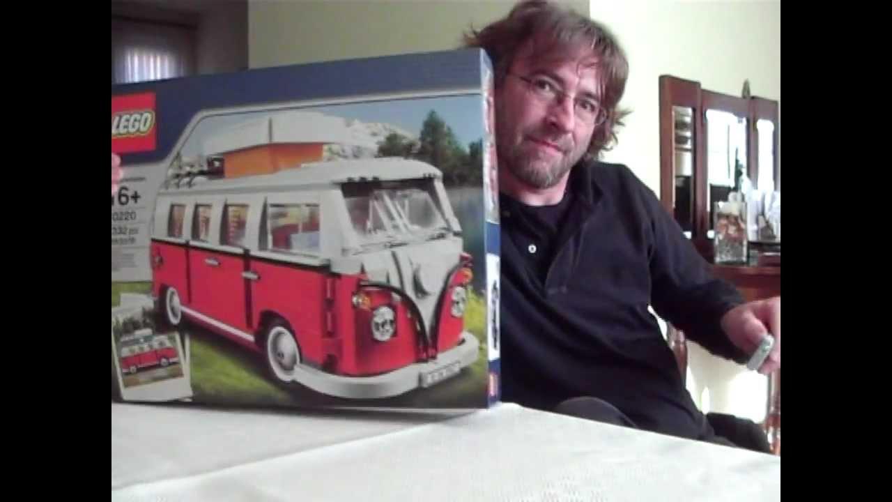lego 10220 volkswagen t1 camper van recensione parte 1. Black Bedroom Furniture Sets. Home Design Ideas