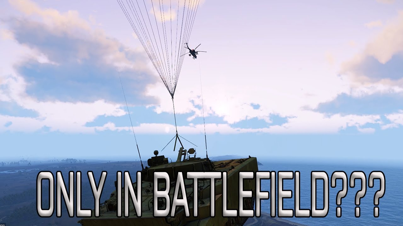 """Only in Battlefield"" but its ARMA 3"