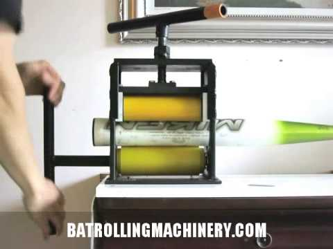 bat rolling machine