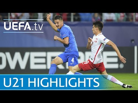 Under-21 highlights: Poland v Slovakia