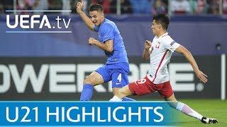 Under-21 highlights: Poland v Slovakia