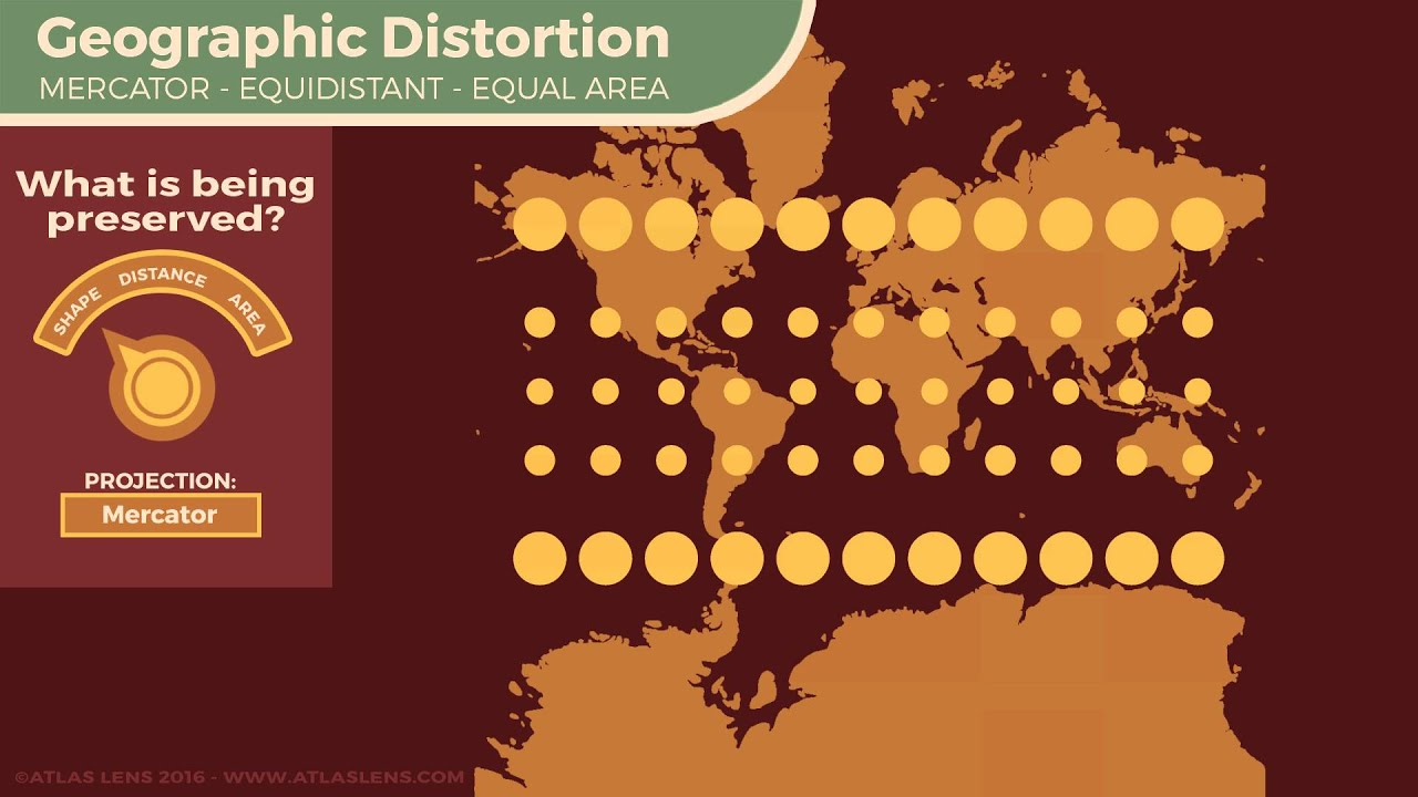 Map projection distortion animation youtube map projection distortion animation gumiabroncs Images