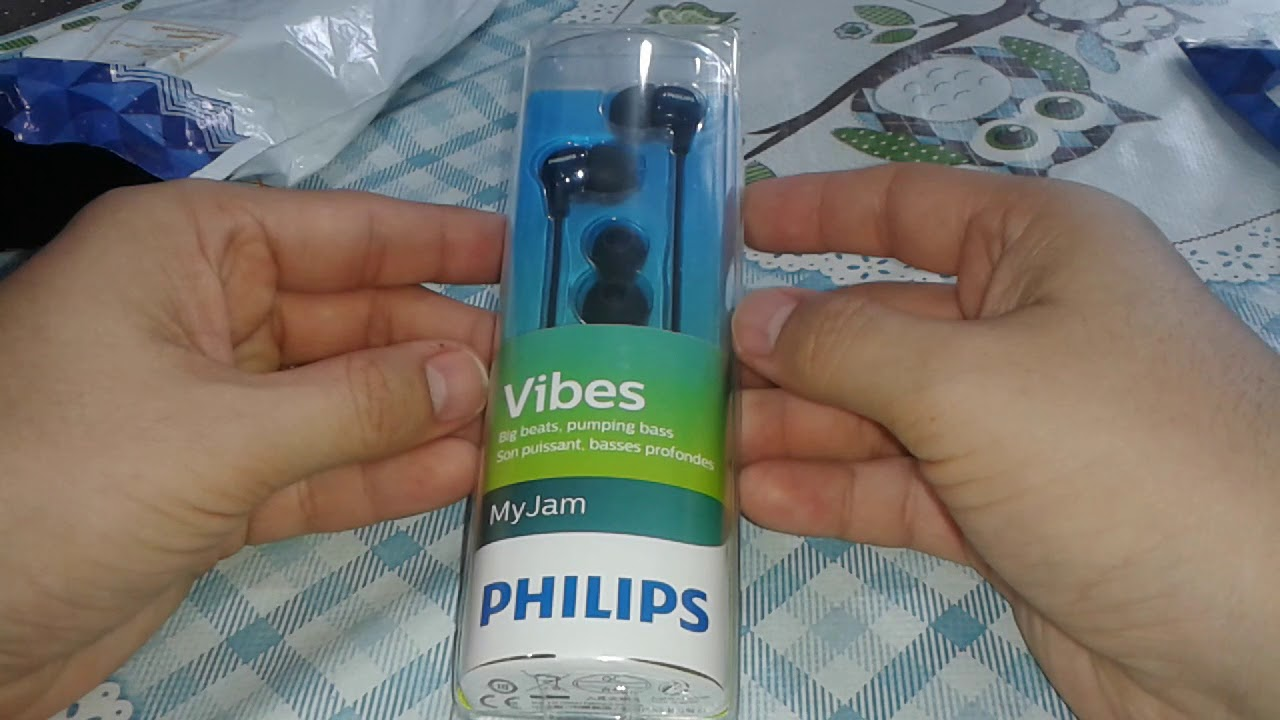 Unboxing 59 Fone De Ouvido She3700bk 00 Philips Amazoncombr Jgos17 In Ear Headphone With Mic She1405 Black