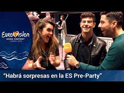 **AMAIA y ALFRED**: Habrá sorpresas en la ES PRE-PARTY de MADRID