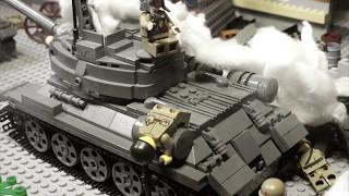 LEGO WW2 stop motion FALL OF BERLIN 1945 / ВЗЯТИЕ БЕРЛИНА 1945, Лего мультфильм