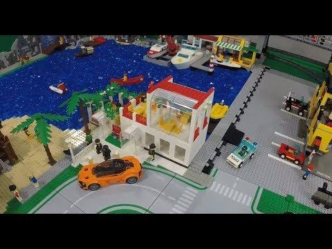 LEGO Restaurant On The Lake