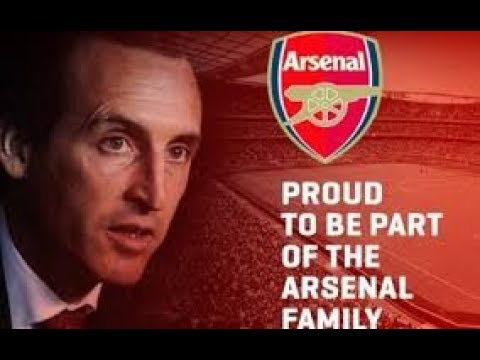 WELCOME UNAI EMERY TO ARSENAL FC! BACK YOUR MANAGER!!