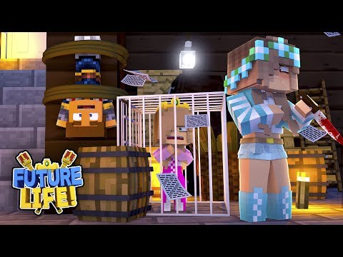Minecraft FUTURE LIFE!! - BABIES LITTLE KELLY & DONNY ARE TRAPPED IN ASHLEY'S BASEMENT!!
