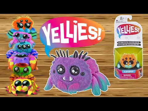 YELLIES Spiders Voice Command Toy
