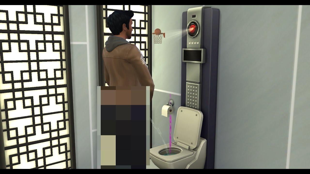 Výsledek obrázku pro the sims 4 city living talking toilet