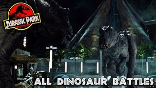 Every Dinosaur Battle in the Jurassic Park Series