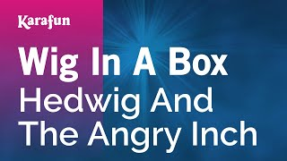 Karaoke Wig In A Box - Hedwig And The Angry Inch *