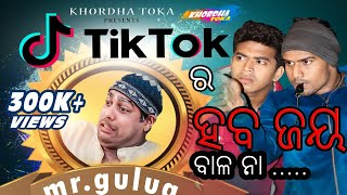 TIK TOK  ra heba jaya || Mr.gulua ||funny anugulia ||Khordha toka