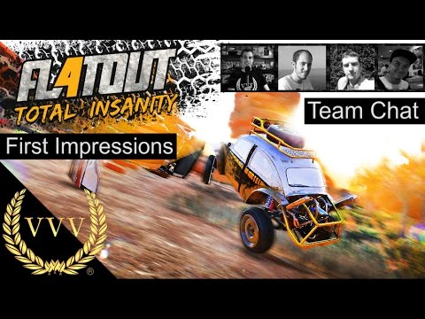 flatout 4 initial impressions team chat youtube. Black Bedroom Furniture Sets. Home Design Ideas