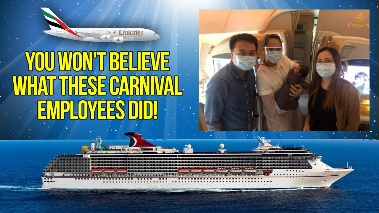 You Won't Believe What These Carnival Cruise Lines' Employees Did!