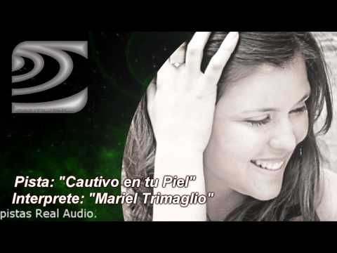 Cautivo en Tu Piel - Mariel Trimaglio - Pista Instrumental karaoke - calamusic studio demo