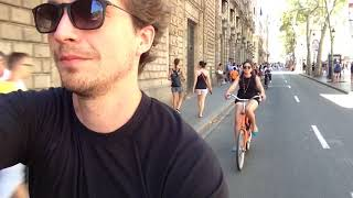 Barcelona - Cycle trip