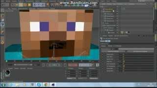 Туториал! Анимация рта в Cinema 4D - часть 1(В данной серии туториалов вы увидите обучающие уроки по настройке мимики лица персонажа minecraft, иначе говоря..., 2013-02-08T09:59:40.000Z)