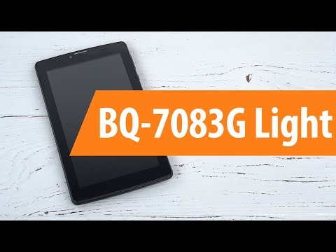 Распаковка BQ-7083g Light / Unboxing BQ-7083g Light