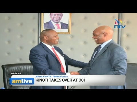 Fearless crime-buster George Kinoti takes over as Director of Criminal Investigations - Am Live