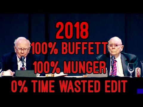 TIMESAVER EDIT FULL Q&A Warren Buffett Charlie Munger Berkshire Hathaway Annual Meeting 2018