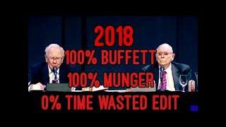 TIMESAVER EDIT FULL Q&A Warren Buffett Charlie Munger 2018 Berkshire Hathaway Annual Meeting