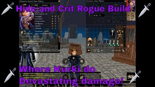 Neverwinter Nights 1 Builds: Hide And Crit Rogue