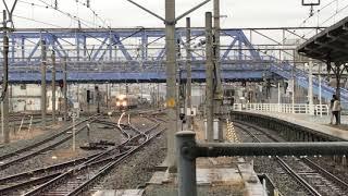 豊橋駅で見られるJRと名鉄!