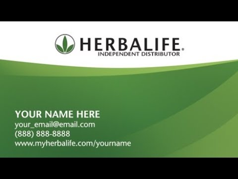 Herbalife business cards youtube herbalife business cards flashek Image collections