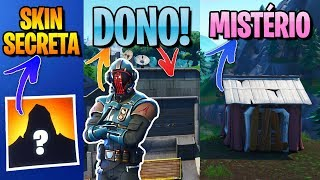 SKIN SECRET SEASON X-MYSTERIOUS HOUSES AND THE VISITOR READY-FORTNITE