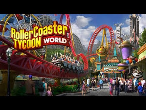 RollerCoaster Tycoon World《過山車大亨:世界》搞笑試玩 - 童年回憶!