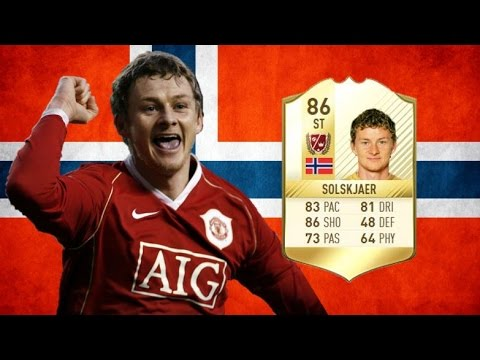 FIFA 17 - Ole Gunnar Solskjaer - Legend Review