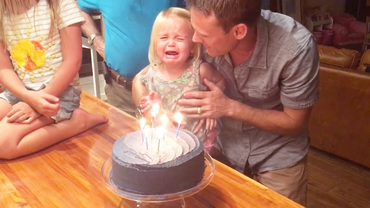 Funny Babies Blowing Candle Fail